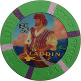 Aladdin Casino $25 (2000) Chip - Spinettis Gaming - 1