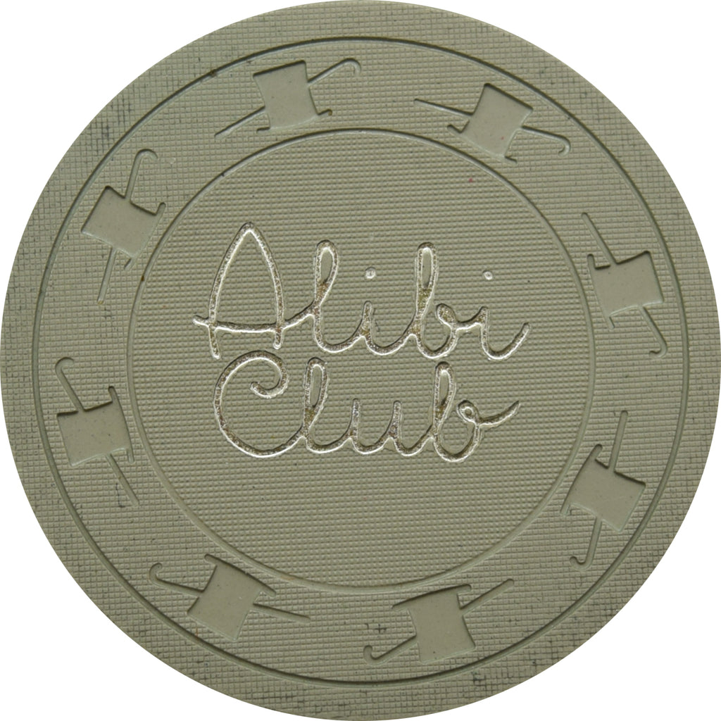 Alibi Club Casino Pittman NV $1 Chip 1961