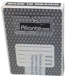 Aliante Station Casino Used Black Deck - Spinettis Gaming - 2