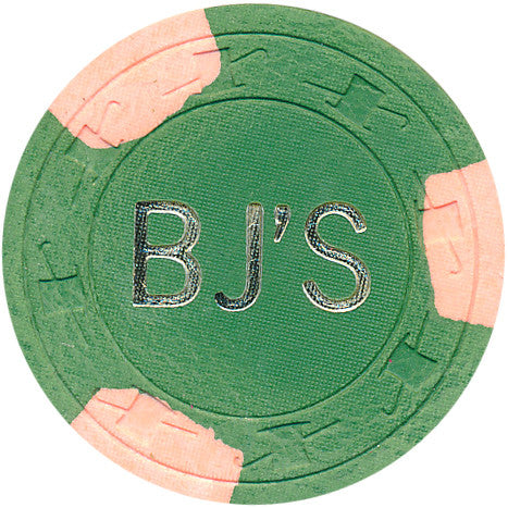 BJ'S Casino $25 (green 1978) Chip