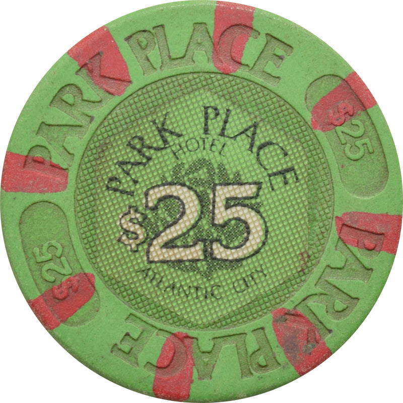 Bally's Park Place Casino Atlantic City New Jersey $25 Chip