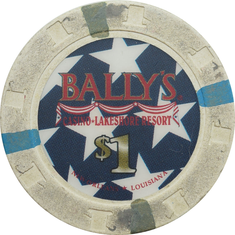 Bally's Casino New Orleans LA $1 Chip