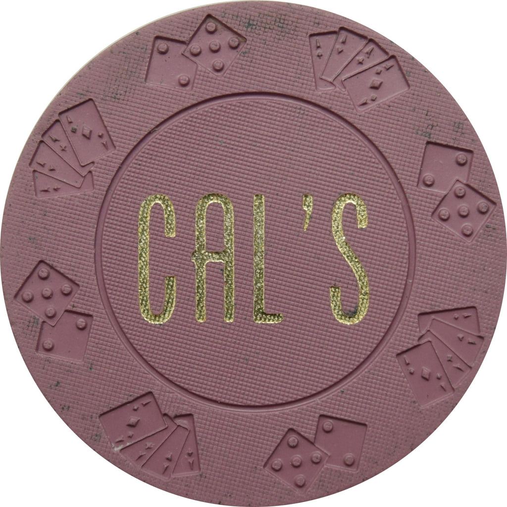 Cal's Casino N. Las Vegas NV $1 Chip 1966