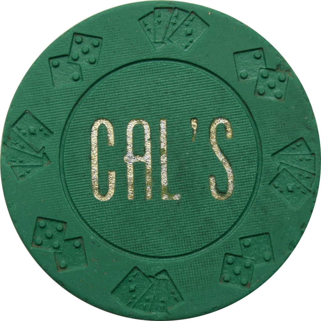 Cal's Casino N. Las Vegas NV $5 Chip 1966