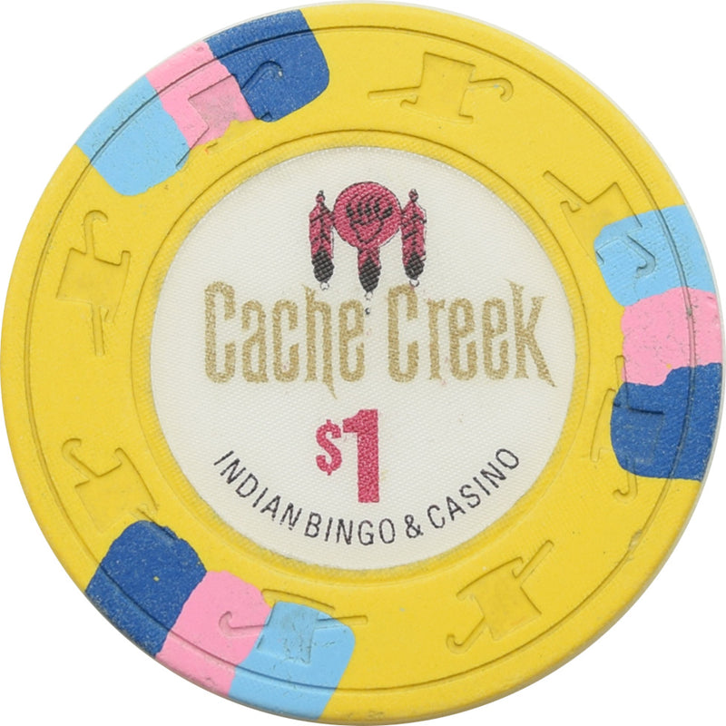 Cache Creek Casino Brooks CA $1 Chip