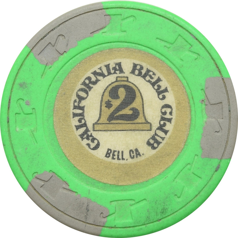 California Bell Club Bell CA $2 Chip