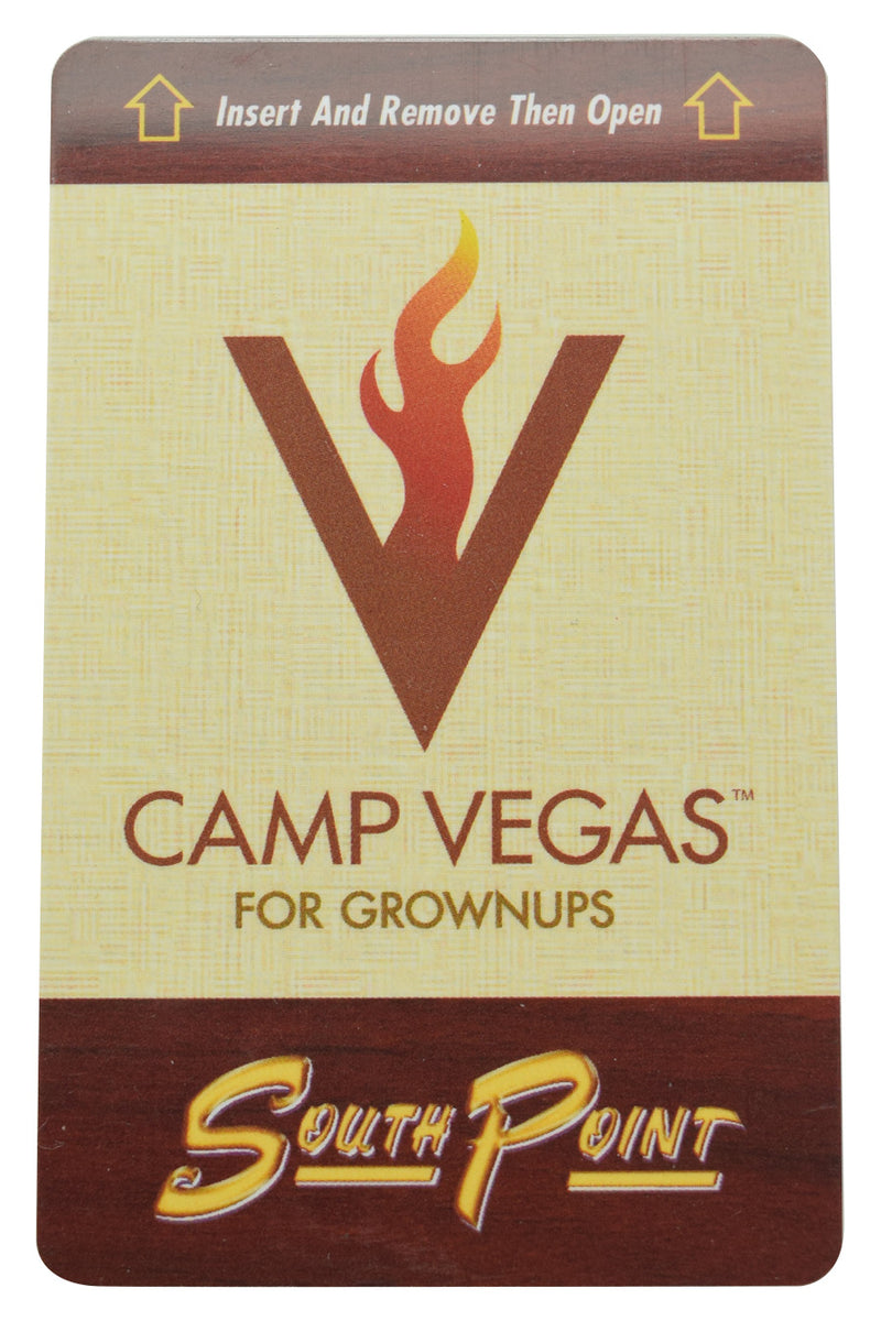 South Point Casino Las Vegas Nevada Camp Vegas Hotel Room Key