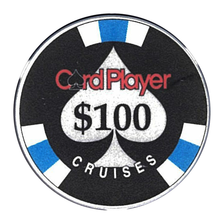 Card Player Cruises $100 Casino Chip