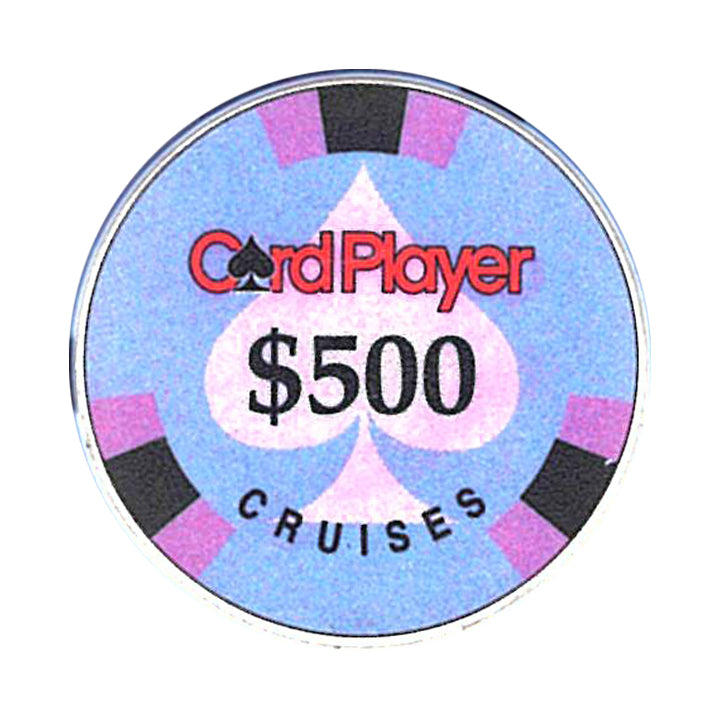 Card Player Cruises $500 Casino Chip