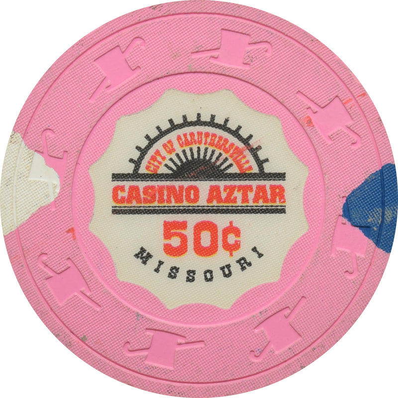 Casino Aztar Caruthersville MO 50 Cent Chip