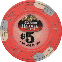 Casino Royale Las Vegas NV $5 Chip 2007