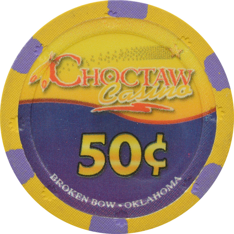 Choctaw Casino Broken Bow OK 50 Cent Chip