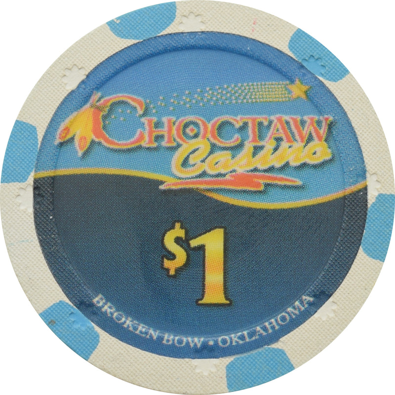 Choctaw Casino Broken Bow OK $1 Chip