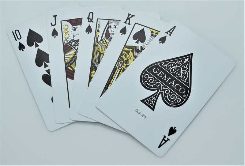 Set-up Used Decks 100% Plastic Las Vegas Casino Poker Tournament Playing Cards