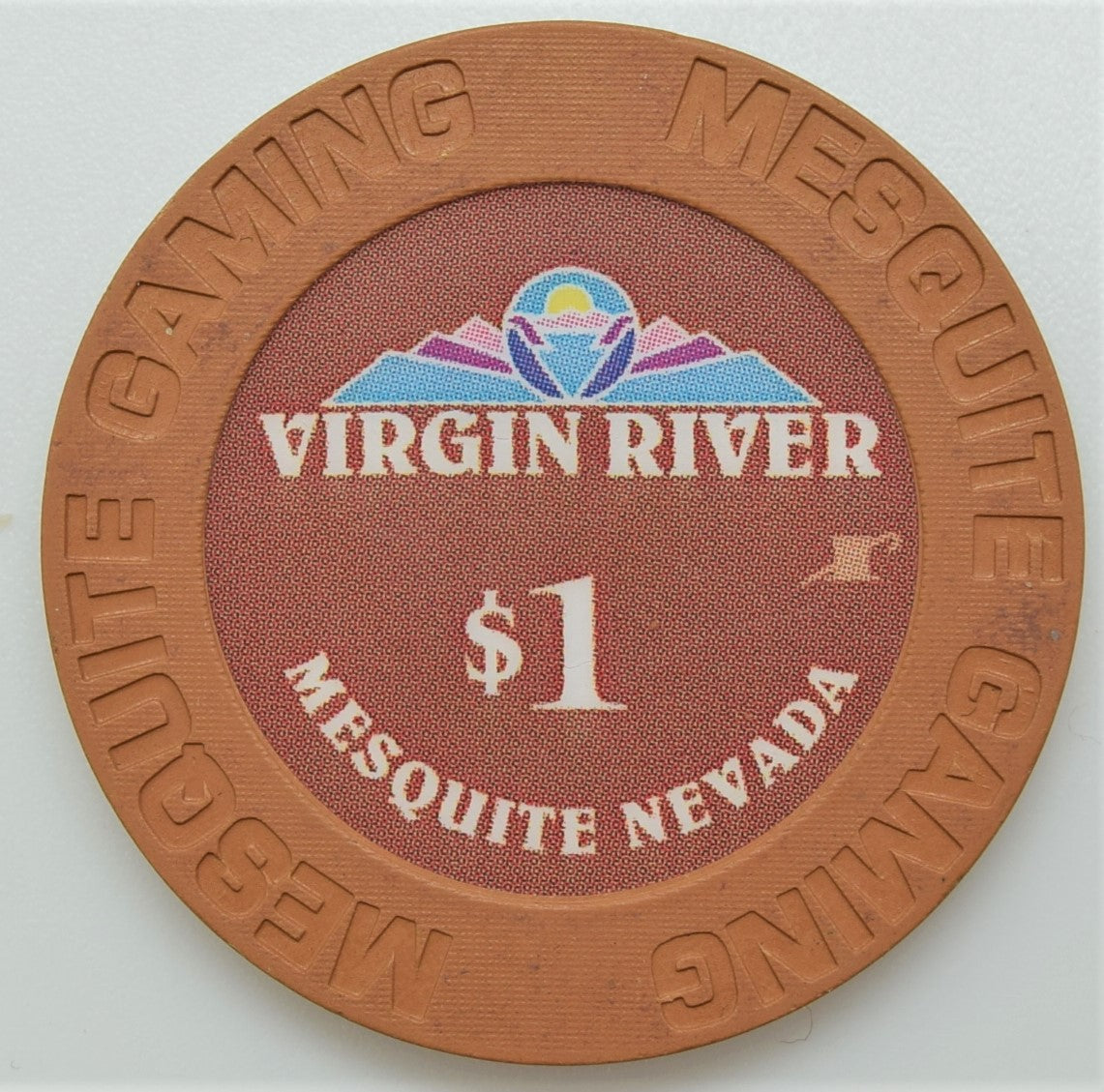 Virgin River, Mesquite NV $1 Casino Chip (#2)