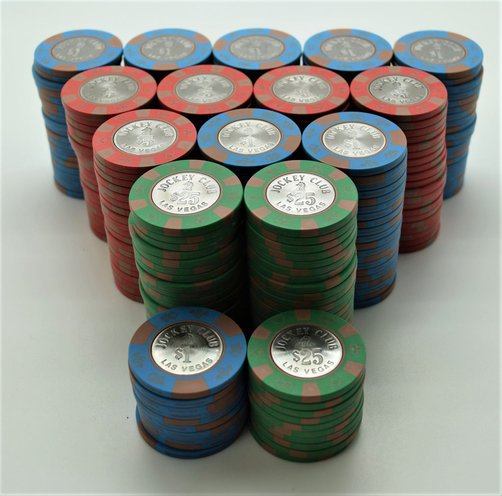 Jockey Club Las Vegas Casino 300 Chip Set