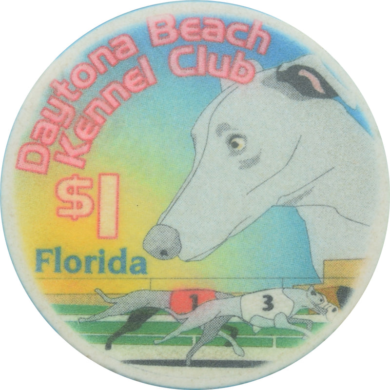 Daytona Beach Kennel Club Casino FL $1 Chip