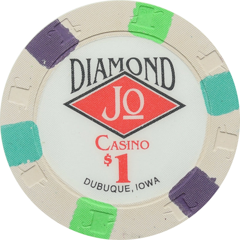 Diamond Jo Casino Dubuque IA $1 Chip
