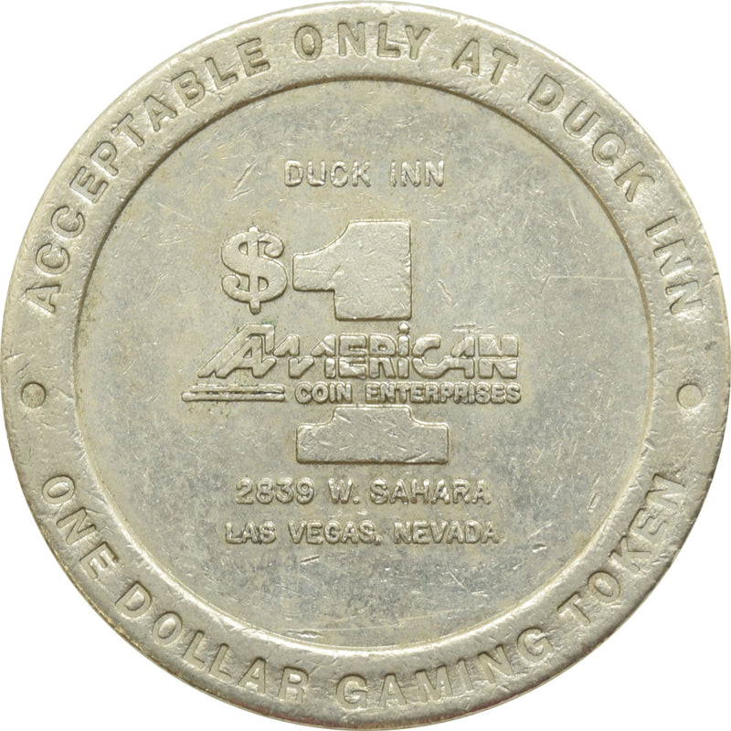 Duck Inn Las Vegas NV $1 Token 1987