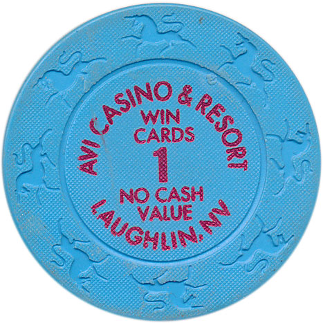 Avi Laughlin 1 Win Cards NCV Chip 2003
