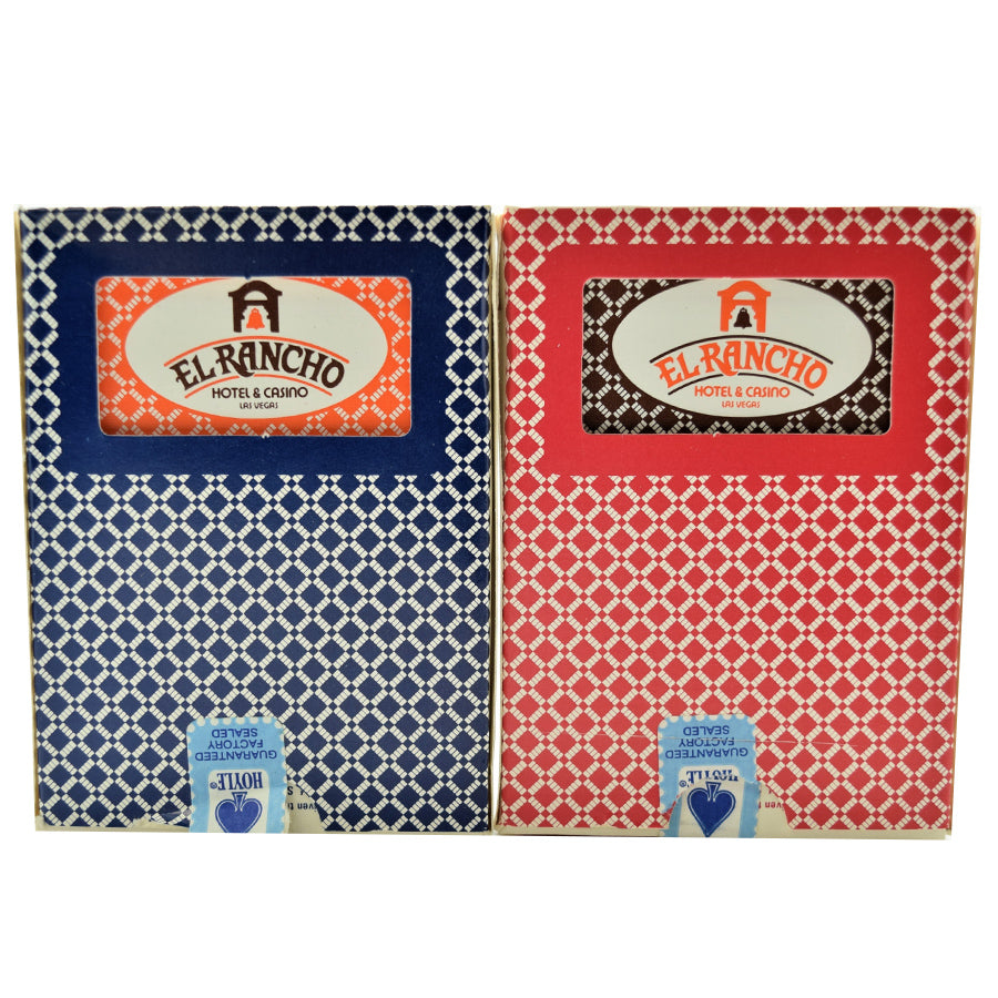 El Rancho Casino Las Vegas Playing Card Deck