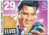 Elvis Puzzle Postcard Small - Spinettis Gaming