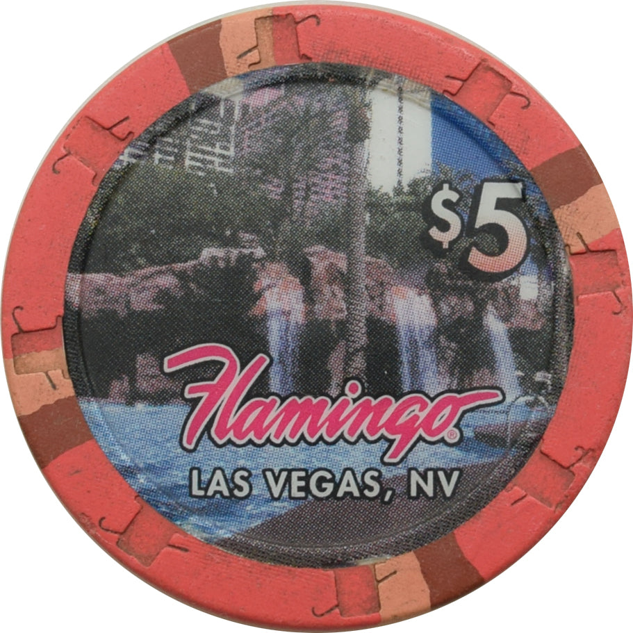 Flamingo Casino Las Vegas $5 Chip 2000