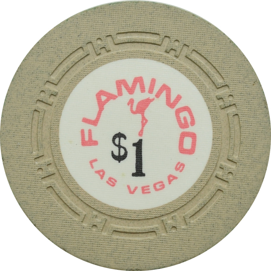 Flamingo Casino Las Vegas $1 Chip 1972