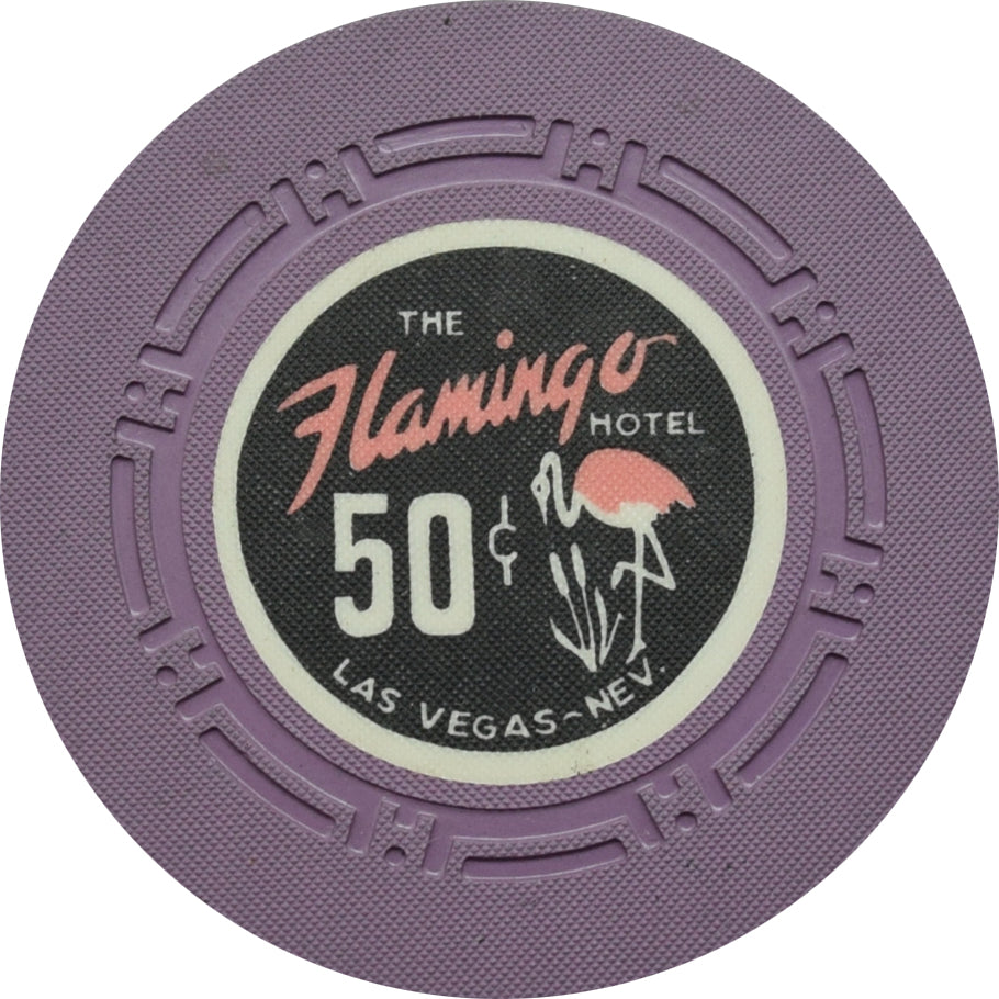 Flamingo Casino Las Vegas 50 Cent Chip 1972