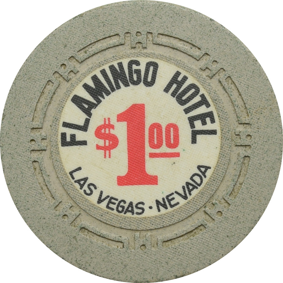 Flamingo Casino Las Vegas $1 Chip 1960s