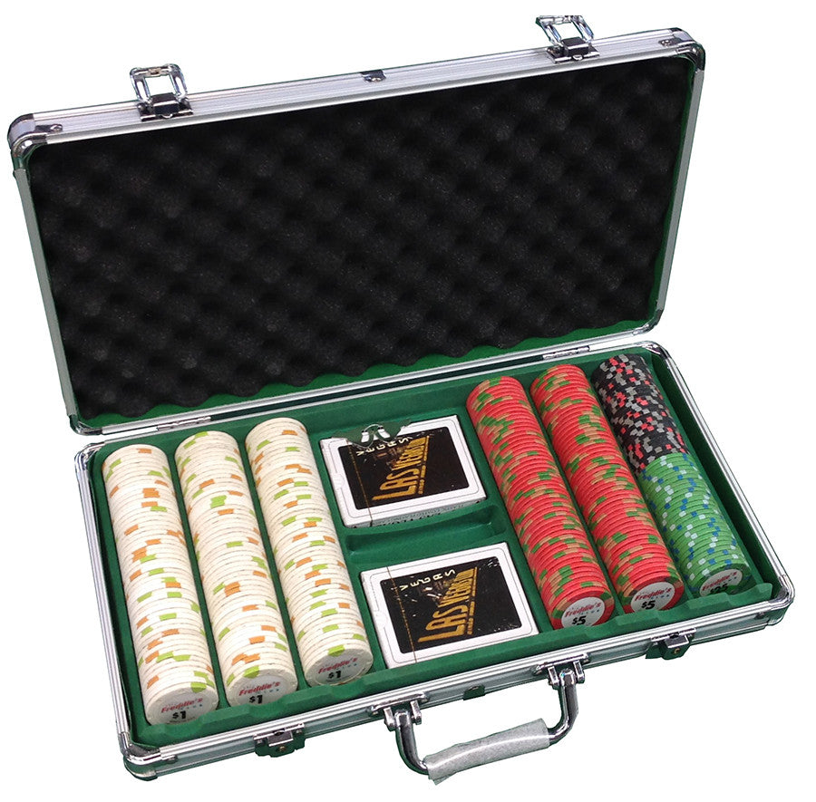 300 Freddies Club Casino Paulson Chips Set