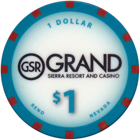 Grand Sierra, Reno NV $1 Casino Chip #2 - Spinettis Gaming - 1