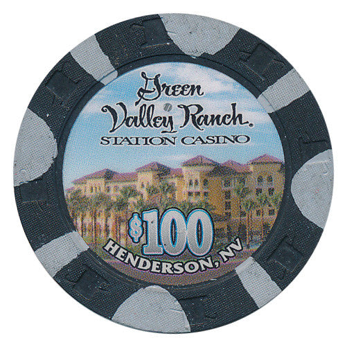 Green Valley Ranch $100 Casino House Chip