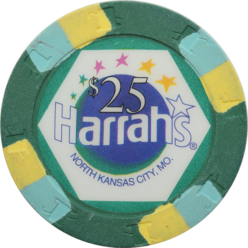 Harrah's Casino North Kansas City MO $25 Chip