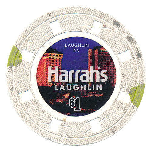 Harrah's Laughlin $1 Casino Chip 2013