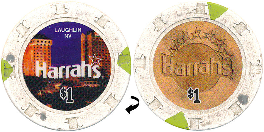 Harrah's Laughlin $1 Casino Chip 2007
