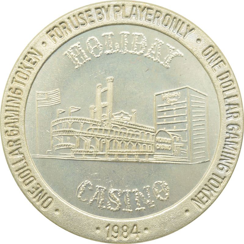 Holiday Casino Las Vegas NV $1 Token 1984