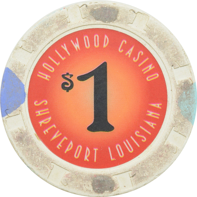 Hollywood Casino Shreveport Louisiana $1 Chip