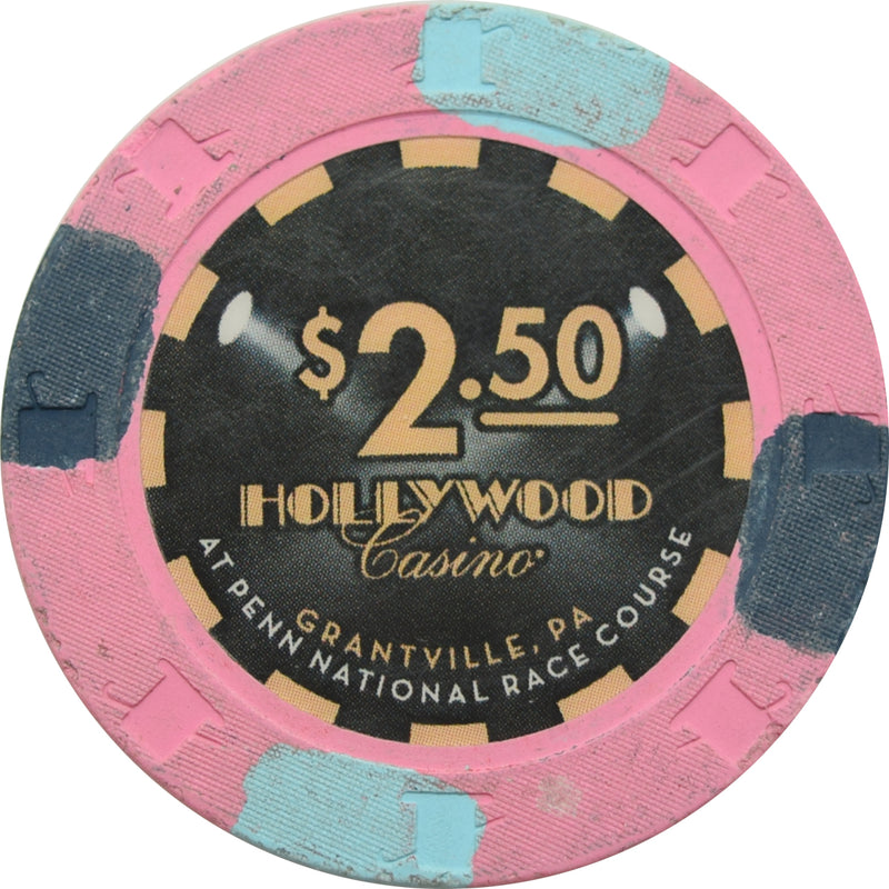 Hollywood Casino Grantville PA $2.50 Chip