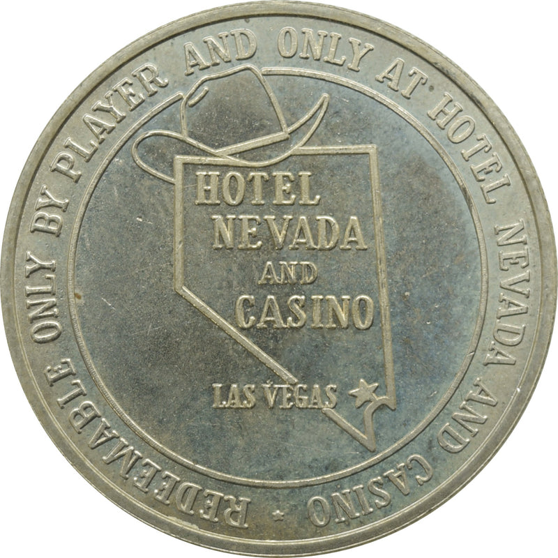 Nevada Hotel Casino Las Vegas NV $1 Token 1985