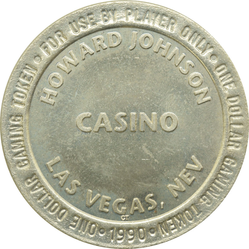Howard Johnson Casino Las Vegas NV $1 Token 1990