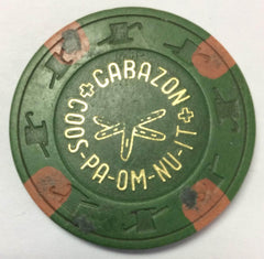 Cabazon Coos-Pa-Om-Nu-It Casino California $2 Chip