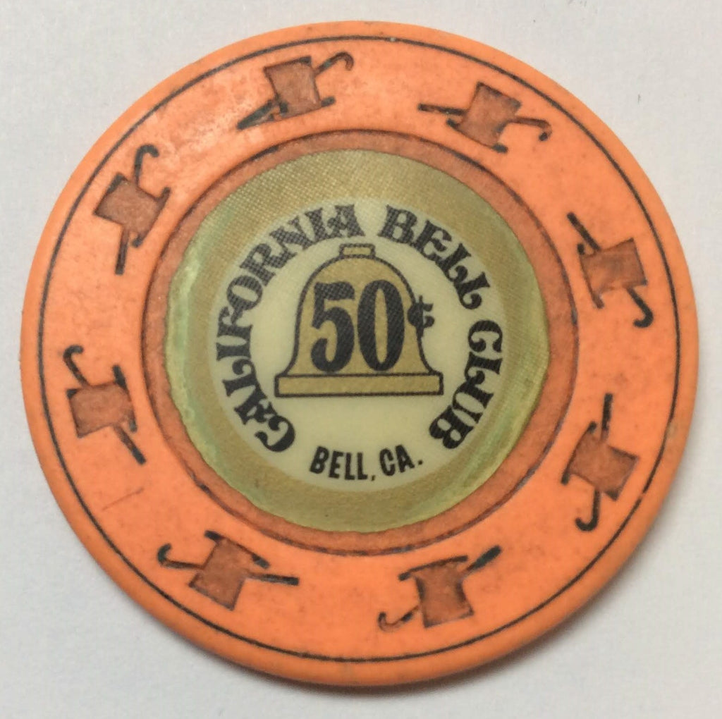 California Bell Club Casino 50cent Chip