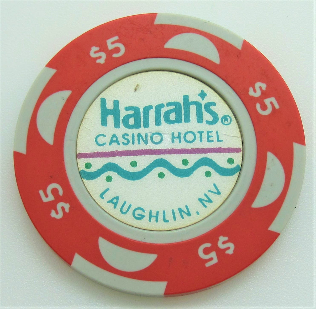 Harrah's Casino Laughlin $5 Chip 1992