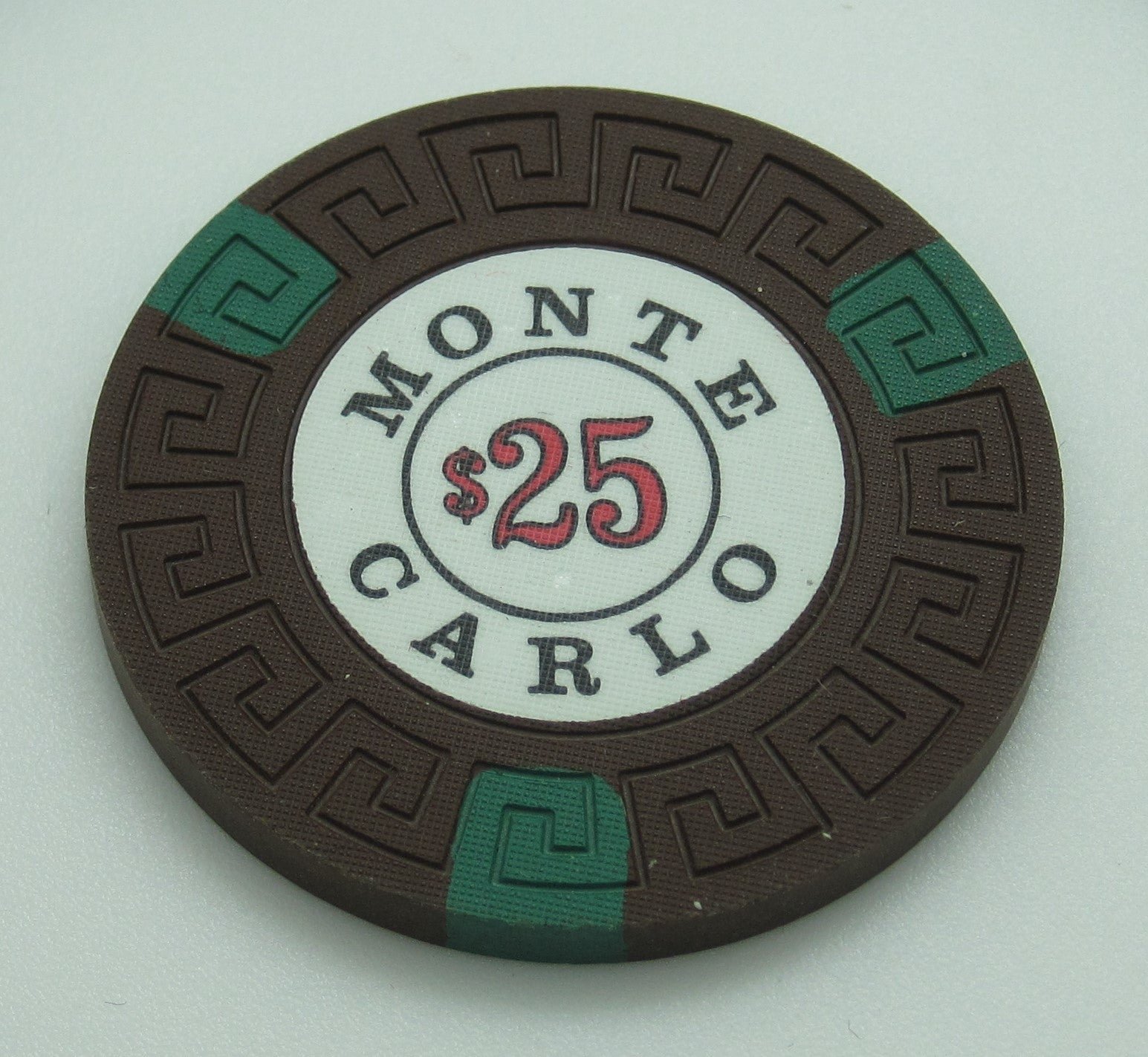 Monte Carlo Casino Reno NV $25 Chip 1976