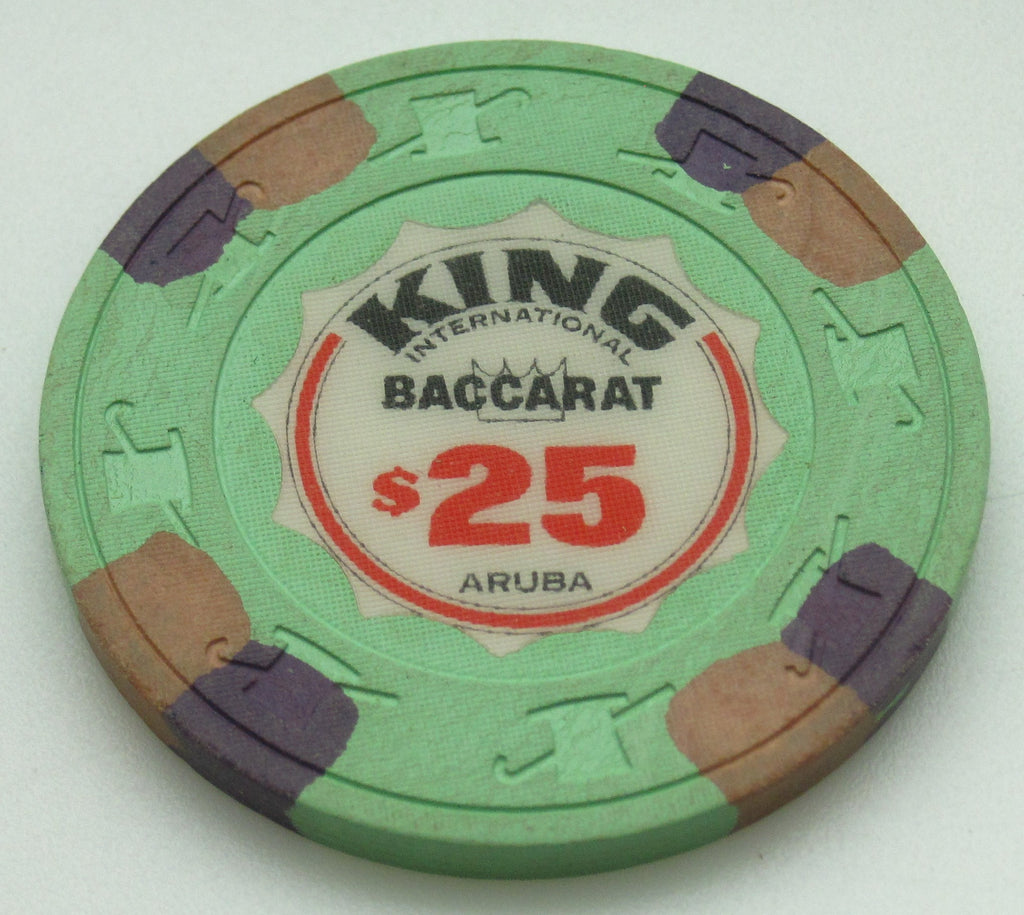 King International Casino Aruba $25 Baccarat Chip