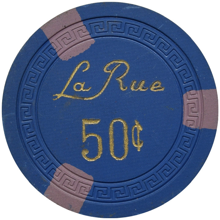La Rue Casino Las Vegas NV 50 Cent Chip 1950
