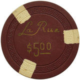La Rue Casino Las Vegas NV $5 Chip 1950