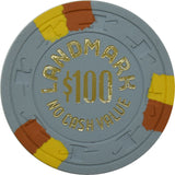 Landmark Casino Las Vegas NV $100 NCV Chip 1978