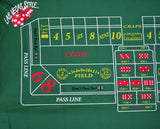 Craps Home Style Layout